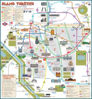 Lisbon Map - Tourist Map of Lisbon - Suggestme